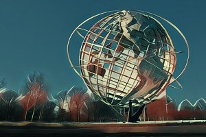World's Fair Unisphere, Flushing NY