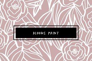 Blooms Print