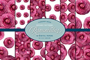 Ranunculus Floral Patterns