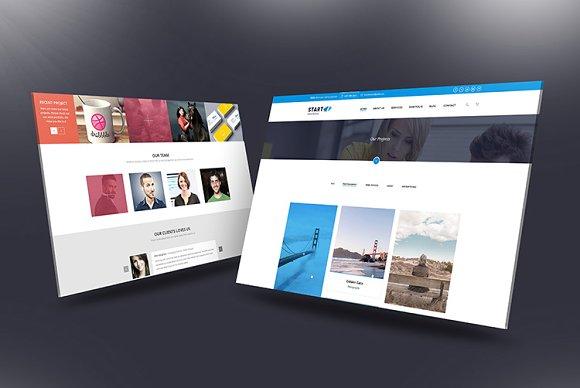 Download Desktop Screen Mock-Up 01