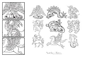 Heraldic Monsters Vol. VII