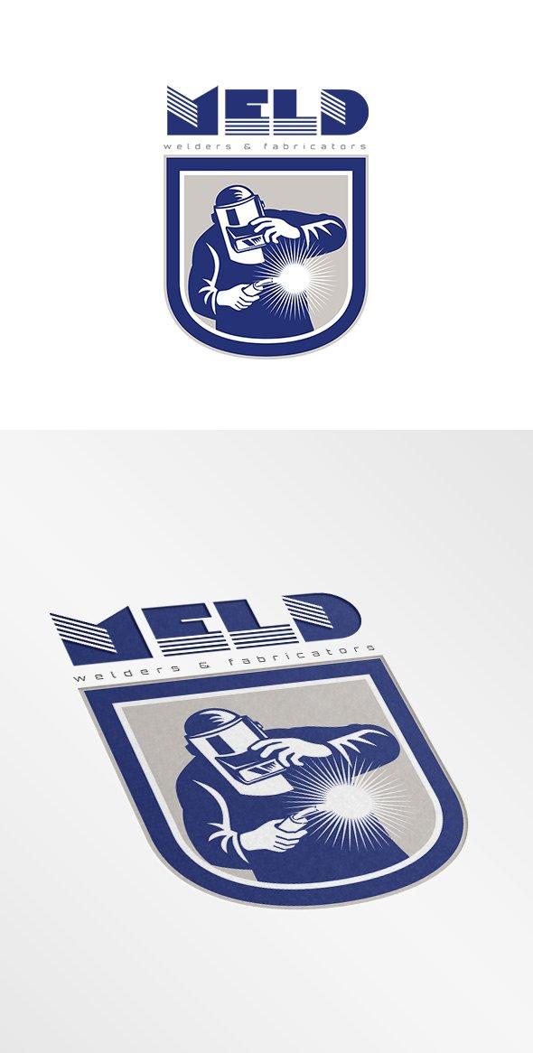 Meld Welders Logo ~ Logo Templates ~ Creative Market