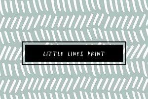Little Lines Print
