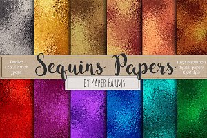 Sequins backgrounds