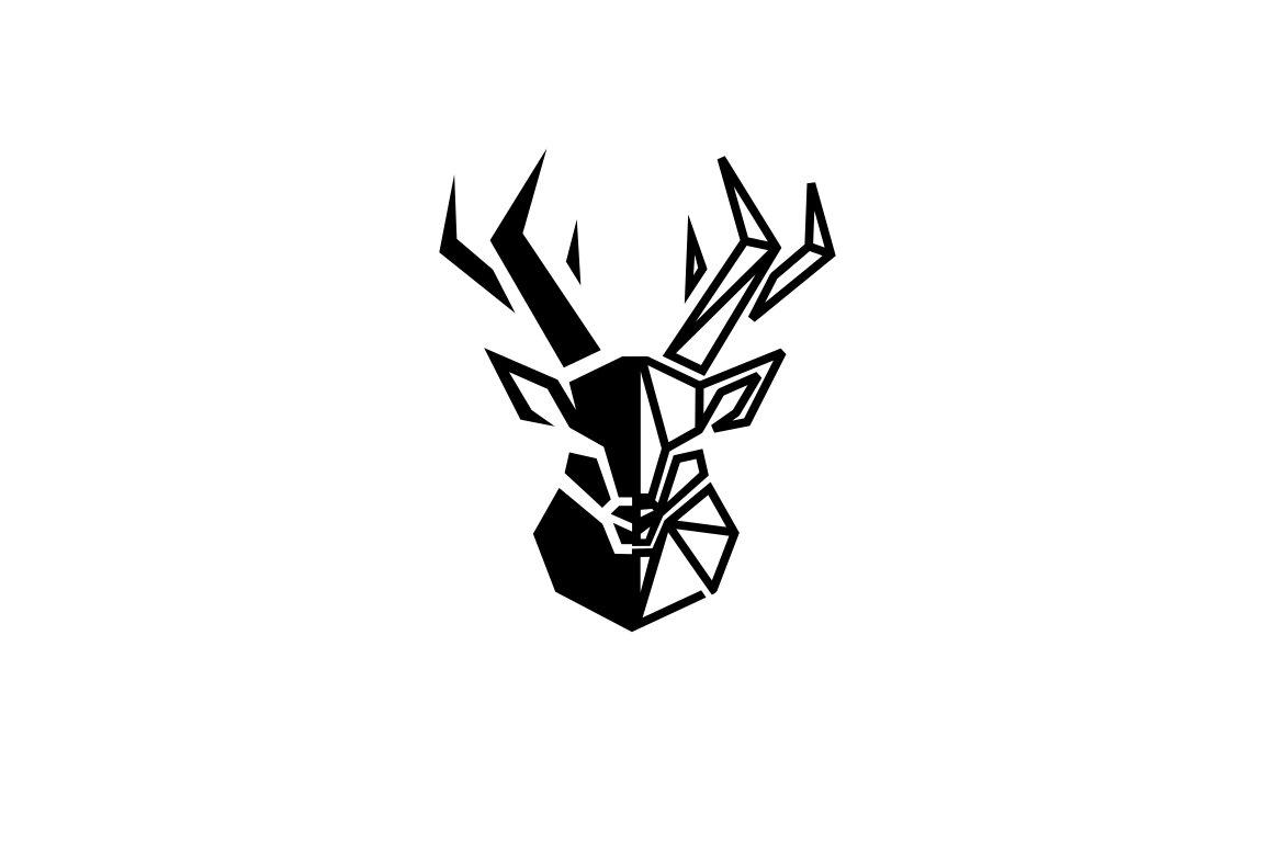 deer logo logo templates creative market