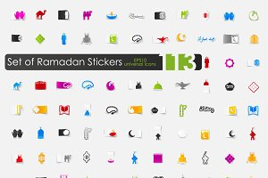 113 RAMADAN sticker icons