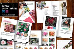 wholesale flower catalog template