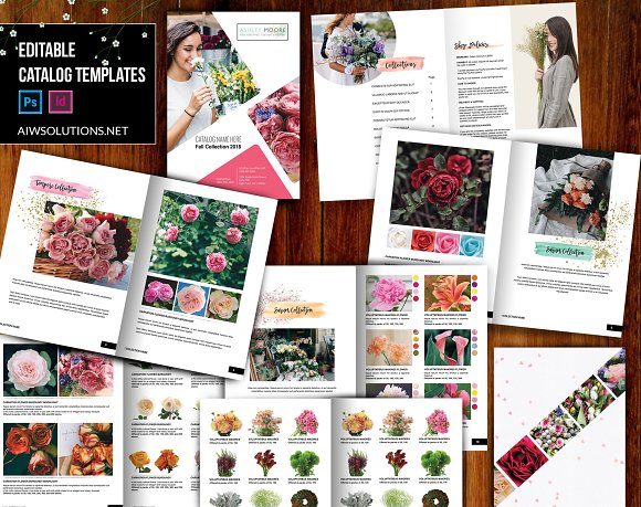 Wholesale Flower Catalog Template