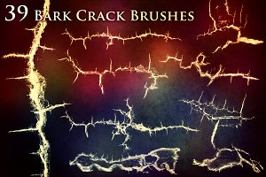 39 Crack Brushes