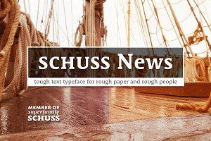 10 Fonts Schuss News Pro