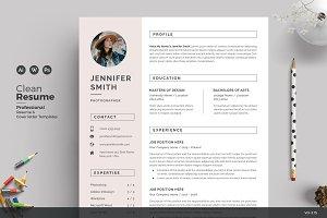 Resume/CV - Feminine