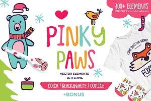 Pinky Paws - Scandinavian Nursery