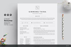 Feminine Resume/CV
