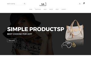 Sa - eCommerce HTML Template