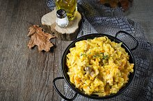 Braised cabbage with minced meat