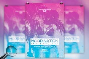 Hood Nation | Flyer Template