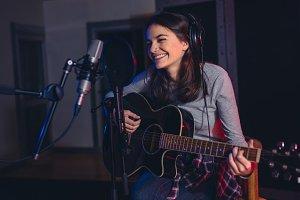 Singer recording her album