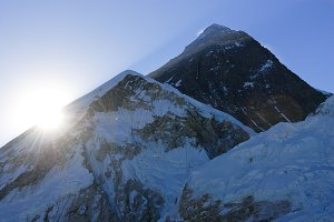Sunrise over Mount Everest