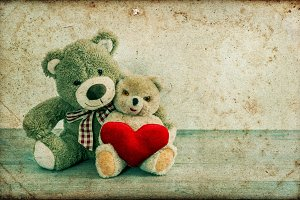 Teddy Bears in Love :)