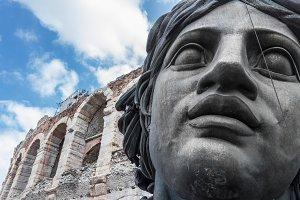 Statue for Verdi's Nabucco opera