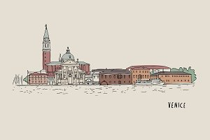 Venice Illustration