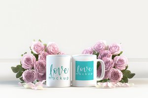 Mug mockup wedding gifts