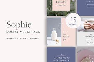 Sophie Social Media Templates