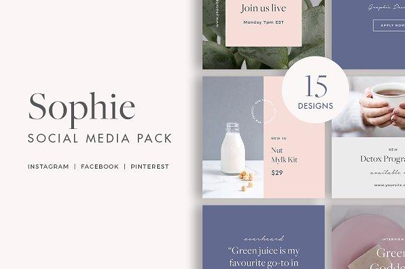 Sophie Social Media Pack