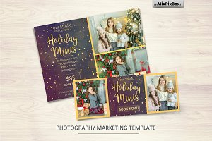 Holidays Minis Template
