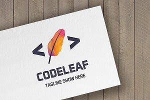 Code Leaf Logo