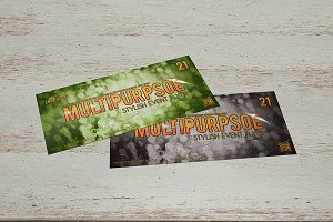 Multipurpose flyer template 9x4