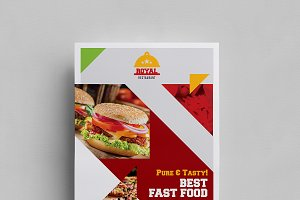 Both Side Food Flyer