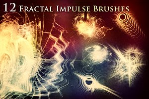 12 Fractal Impulse Brushes