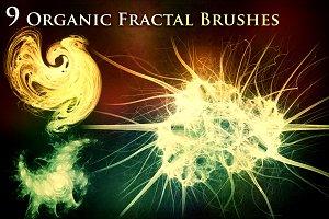 9 Organic Fractal Brushes