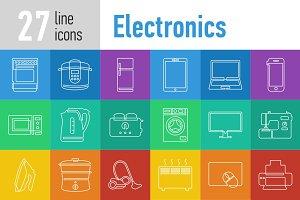 Electronics Line Icons