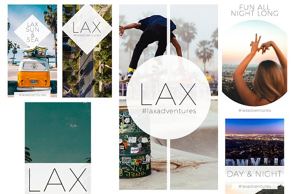 Travel & Fashion Instagram Stories in Social Media Templates - product preview 3