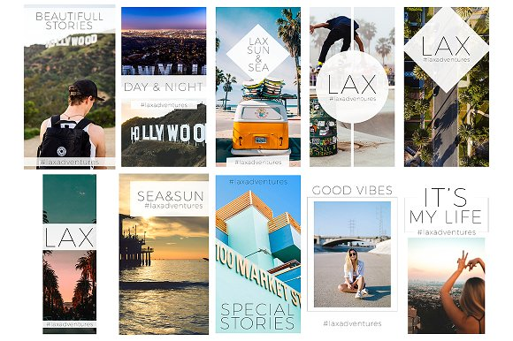 Travel & Fashion Instagram Stories in Social Media Templates - product preview 4