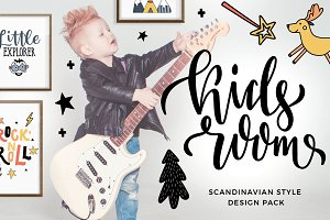 Kids room - scandinavian design pack