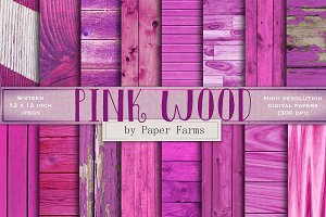 Pink wood backgrounds