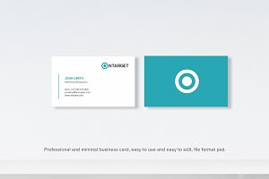 Minimalis Business Card
