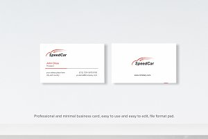 Car Company Business Card
