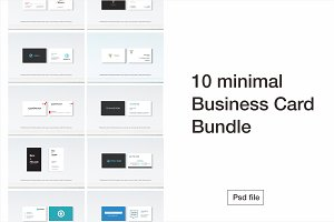 10 Business Card Bundle