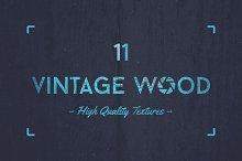 11 vintage wood