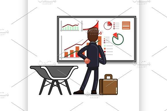 Business sketch man
