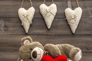 Teddy Bear. Valentines Day