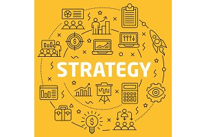 Linear illustration strategy