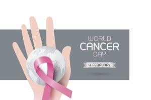 World cancer day design