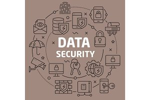 Linear illustration data security