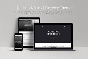 Neuro-x Minimal Blog Theme