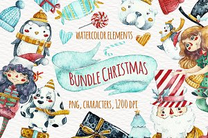 -80% Sale!! BUNDLE CHRISTMAS